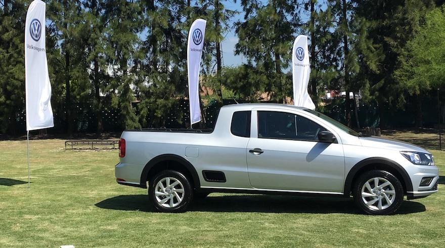 Volkswagen Saveiro, la pick up más chica de la marca.