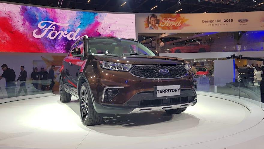 Territory, el SUV de Ford, cada vez más cerca.
