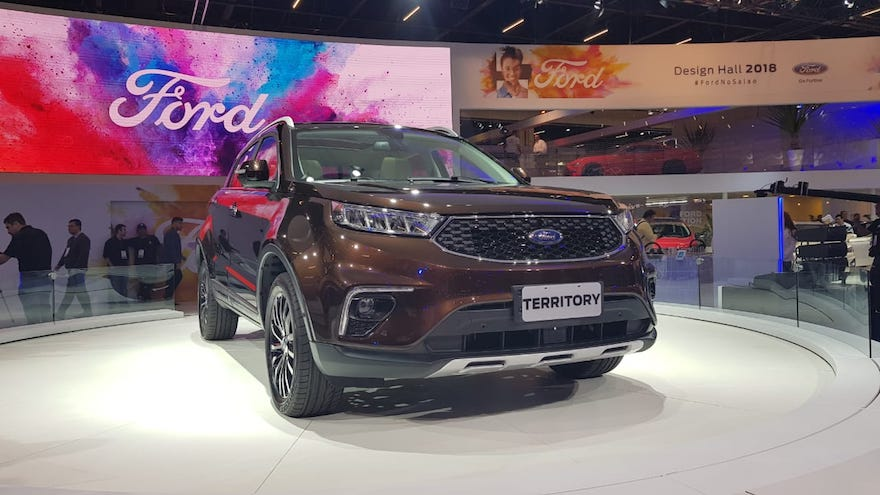 Ford Territory, uno de los lanzamientos futuros de Ford.