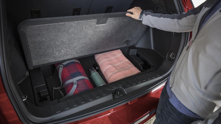 Para evitar robos, guardor todo en el baúl del auto.