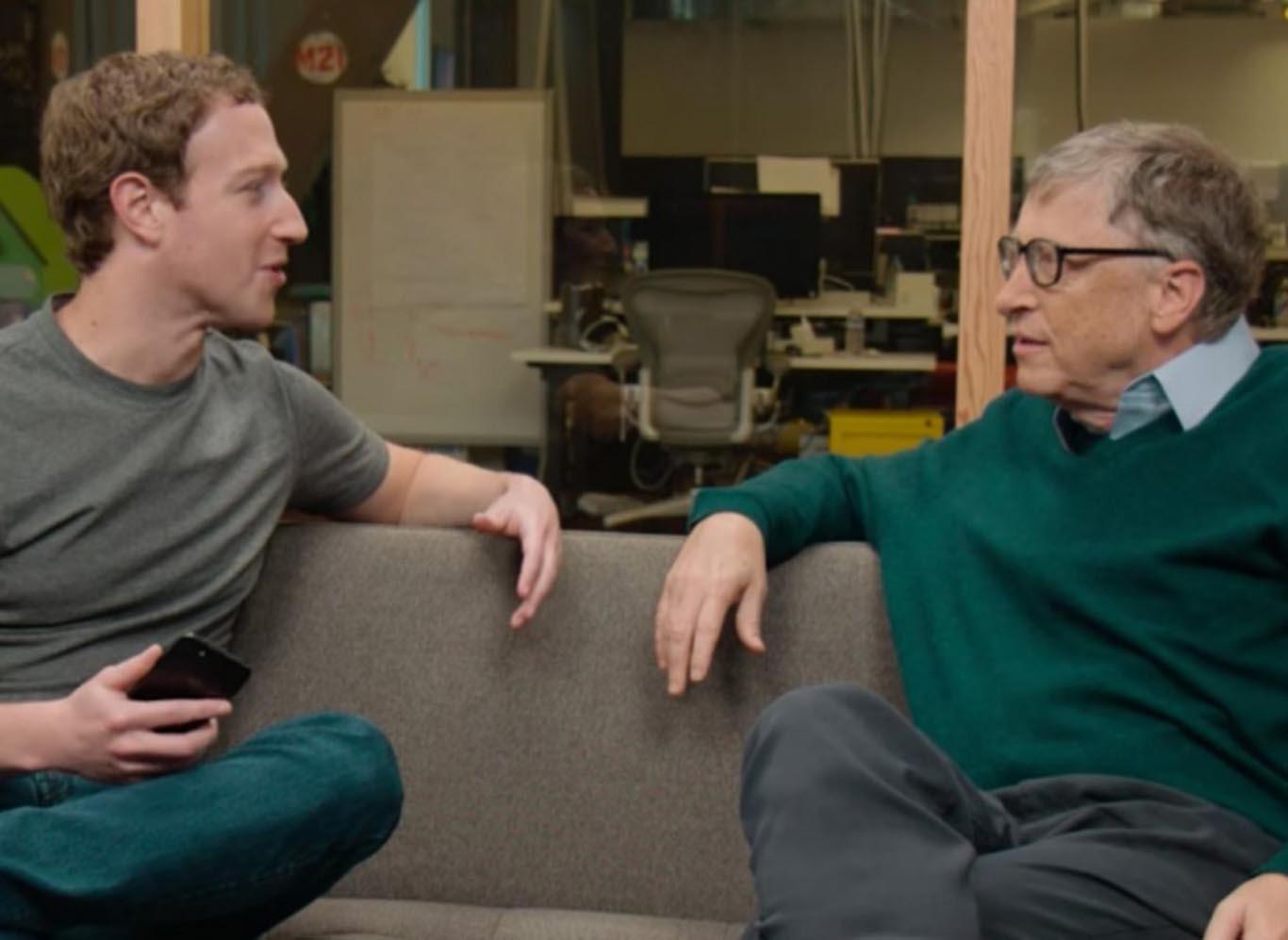 ¿Qué estudiar? Bill Gates y Mark Zuckerberg debieron abandonar sus estudios por el éxito que tenían sus empresas