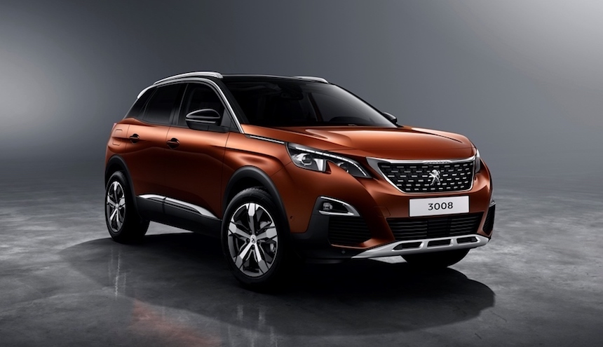 Peugeot 3008, con aires deportivos.