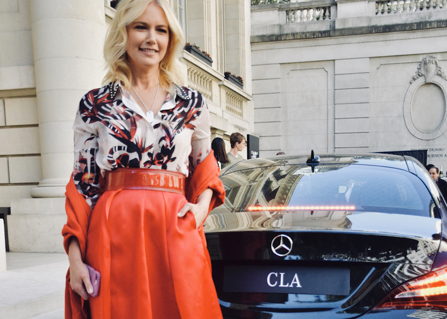 Valeria Mazza se lució junto al CLA