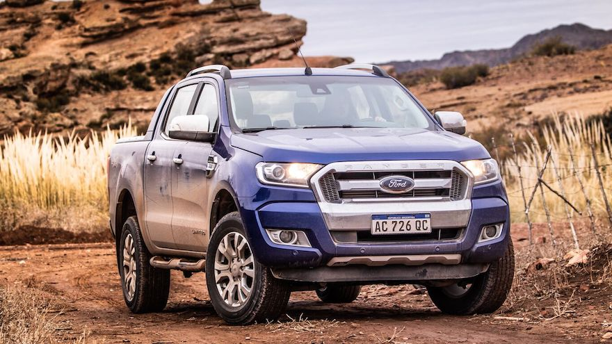 Ford Ranger, otra de las pick ups líderes en ventas.