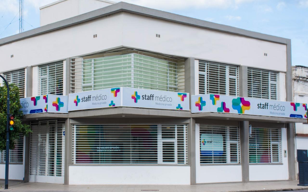 La fachada de la nueva sede