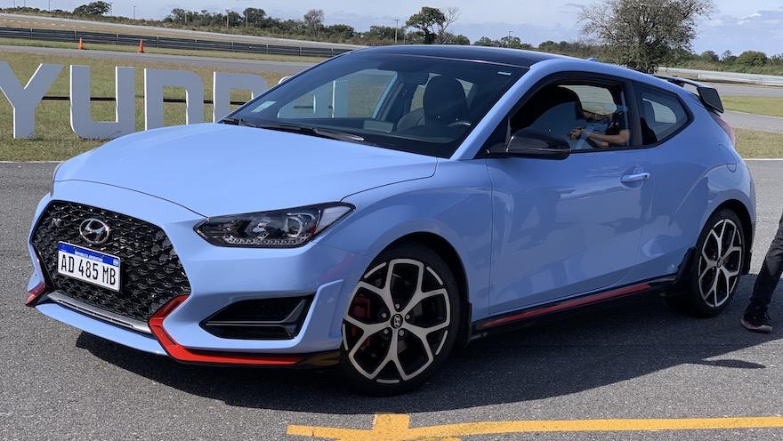 Hyundai Veloster N, el auto deportivo de la división Sport.