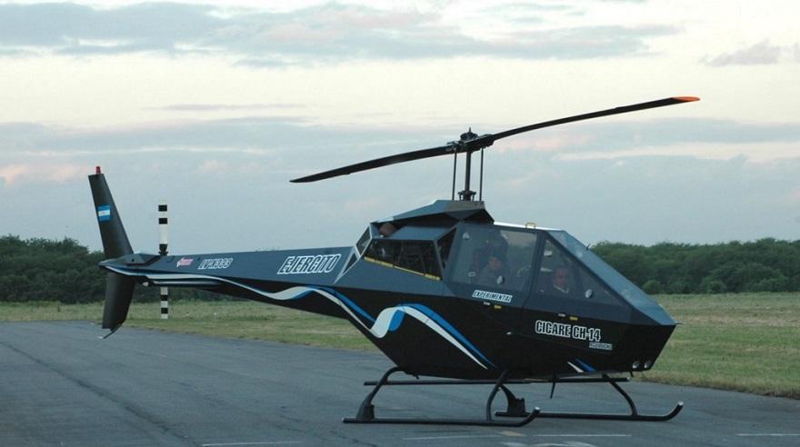 El helicóptero, un invento argentino.