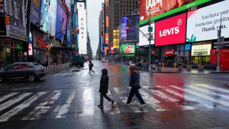 La ciudad de Nueva York fue una de las más afectadas de Estados Unidos