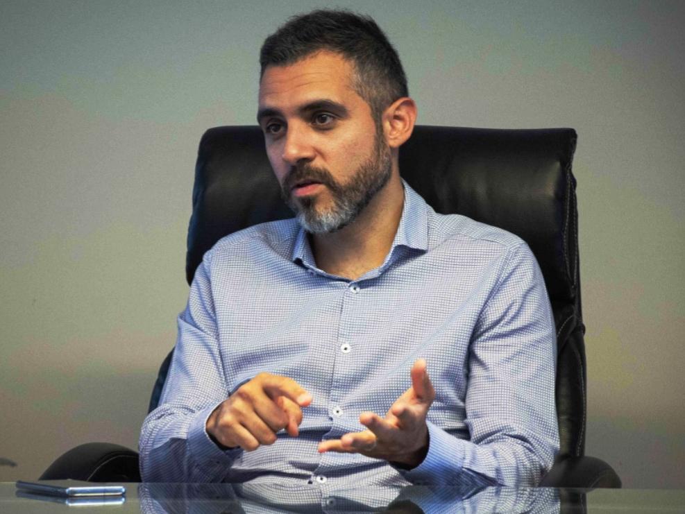Cristian Girard, director ejecutivo de ARBA