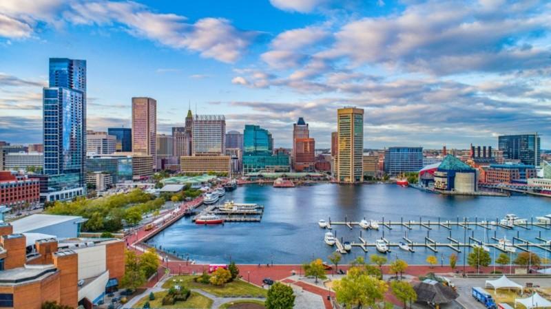 Baltimore es uno de los lugares donde te pagan para vivir y te ayudan a comprar una casa