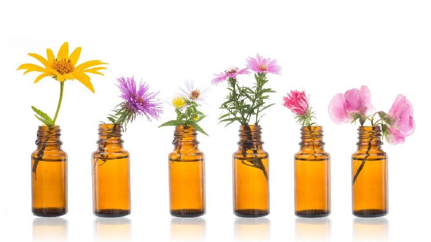 Las flores de Bach son una solución que se toma por vía oral