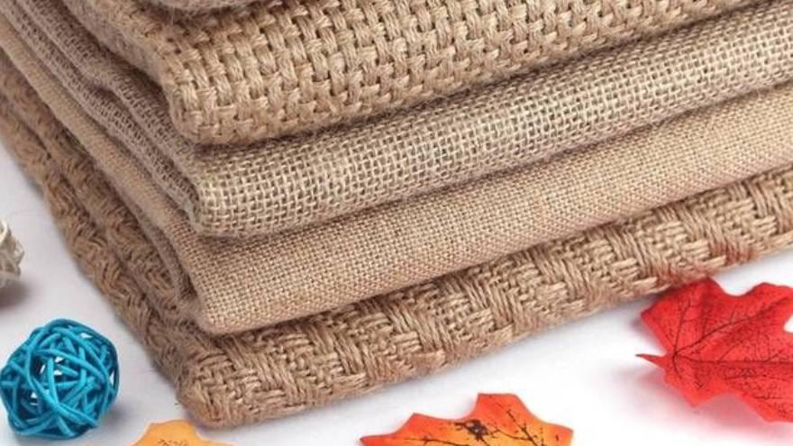 El yute es una de las telas que se puede usar en la moda sustentable