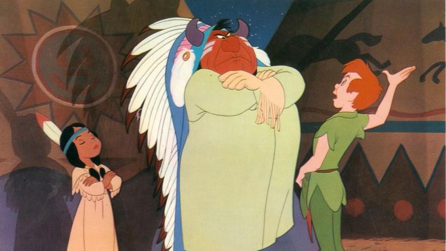 Peter Pan es una de las películas consideradas racistas