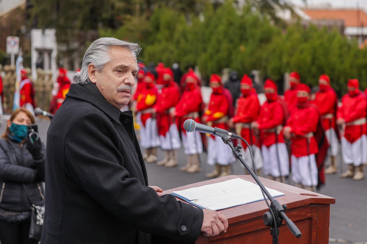 El Presidente realizó un anuncio sobre los billetes que fue bien recibido en Salta.