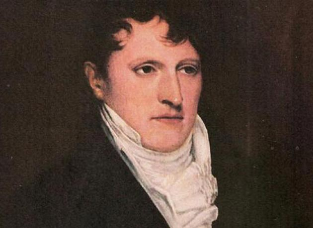 El 27 de febrero de 1812, Manuel Belgrano izó la bandera argentina por primera vez