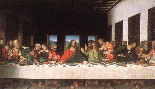 En la Última Cena de la religión cristiana, el 13 apóstol es el que traiciona a Jesús