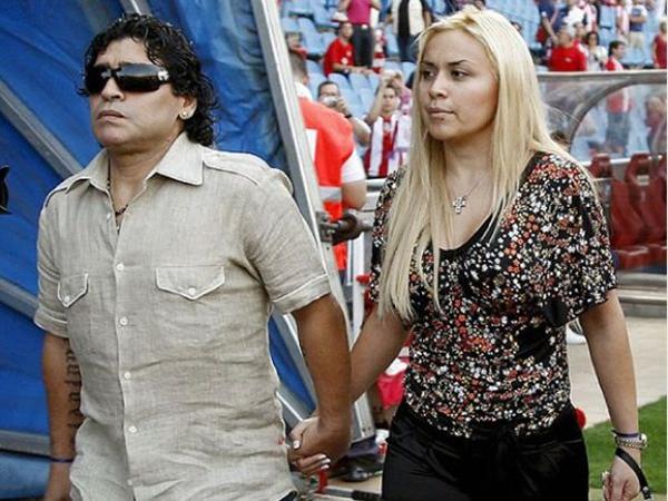 Maradona y Ojeda tuvieron un hijo en común, que en la actualidad tiene 7 años