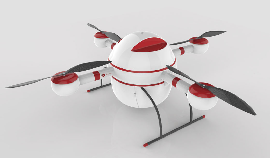 Aumenta el uso de drones para la entrega de medicamentos en zonas remotas