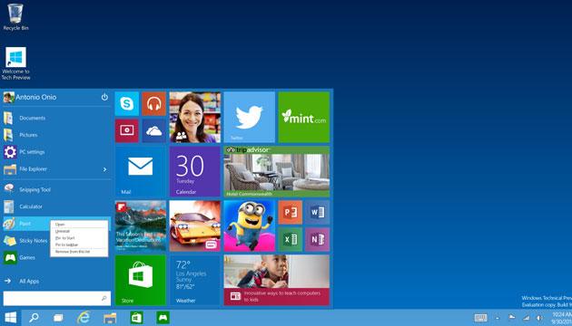 Windows 10 requiere mucho de tu atención al inicio para configurarlo por primera vez.