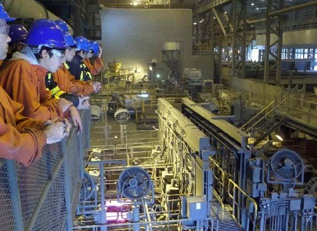 La reconversión en la planta de Siderca, un caso testigo que el Gobierno sigue de cerca
