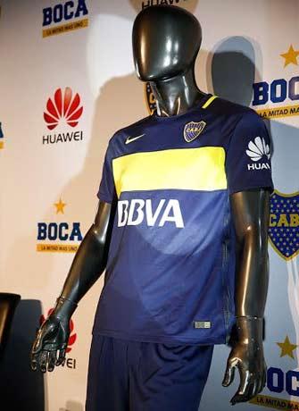 a0398a0cdc8f5 Huawei es el nuevo sponsor de Boca e invierte u s6 millones en su ...