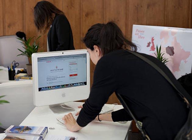 Se reconfiguraron las oficinas y los hogares para adaptarse a las nuevas modalidades de trabajo