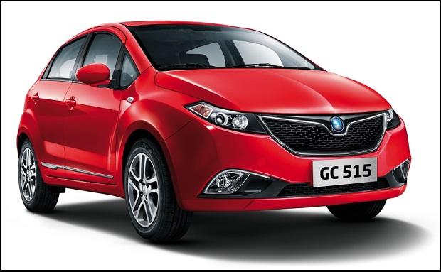 Autos chinos byd en uruguay