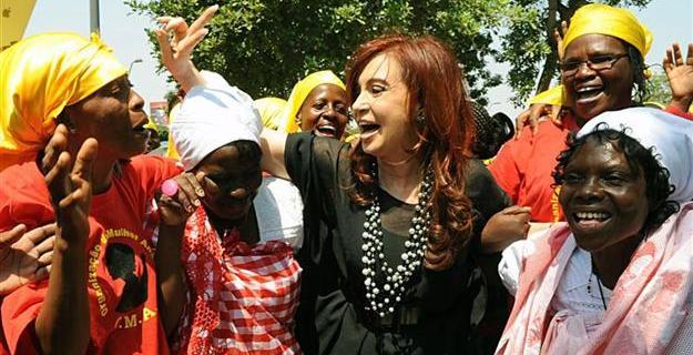 La gira oficial de Cristina Kirchner en Angola en 2012 fue el mayor intento por acercar a Argentina a la nación africana