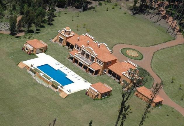 Susana Giménez se encontraba en su mansión de Punta del Este
