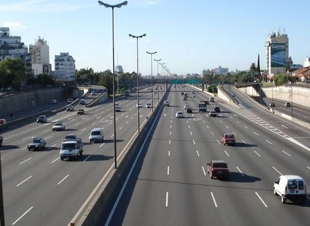 El Telepase se usa en las autopistas porteñas.