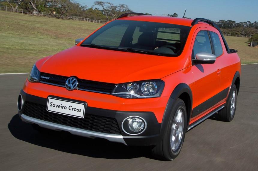 Pick ups de Volkswagen chicas: la clásica, Saveiro.