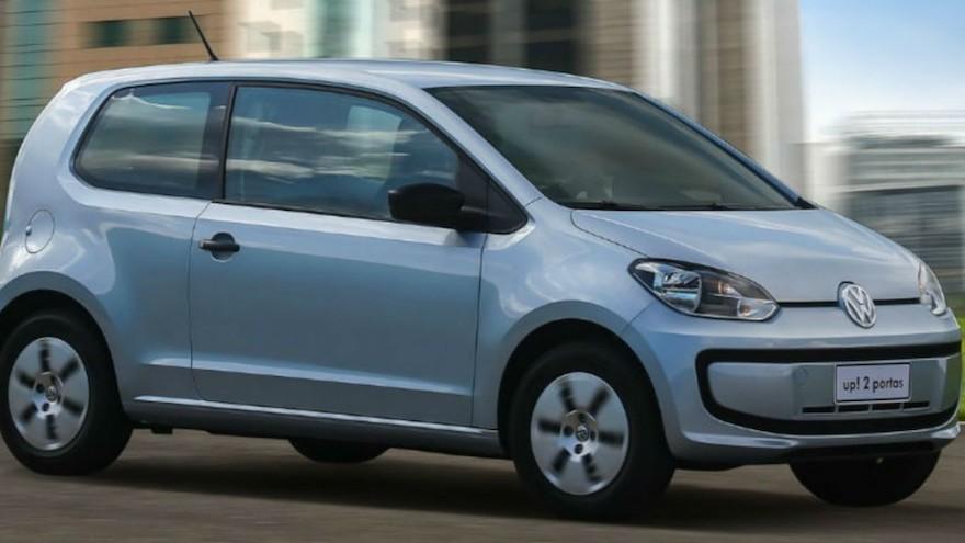 Volkswagen Up, en su versión más barata.