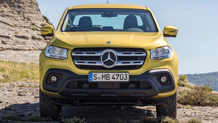 Mercedes Benz Clase X, la nueva pick up de alta gama