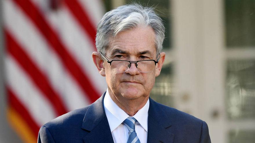 Jerome Powell, el presidente de la Reserva Federal de Estados Unidos