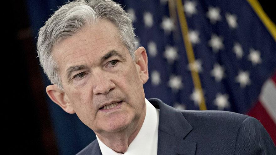 El titular de la Fed, Jerome Powell, puso en marcha el mecanismo de recompra temporal de bonos a fin de marzo