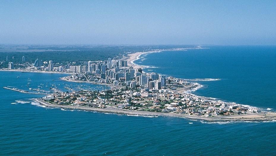 Punta del Este, uno de los destinos más elegidos por argentinos.