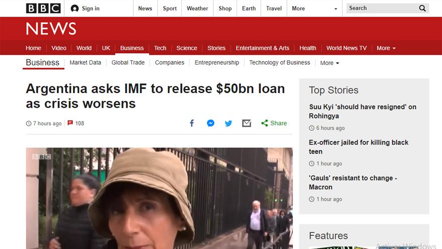 El FMI reiteró el apoyo al Gobierno
