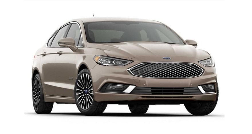 Ford Fusion Hybrid Platinum.