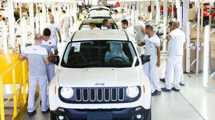 Jeep Renegade, en su fábrica de Pernambuco.
