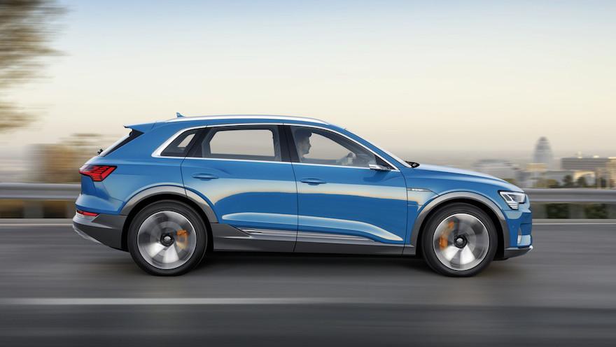 Audi e-tron, el modelo 100% eléctrico se exhibirá durante el verano.