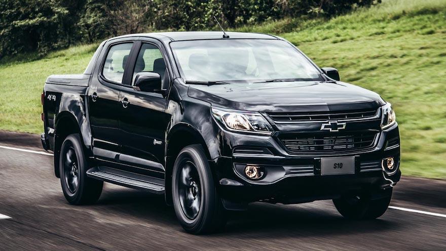 Pick ups made in Brasil: Chevrolet S10.