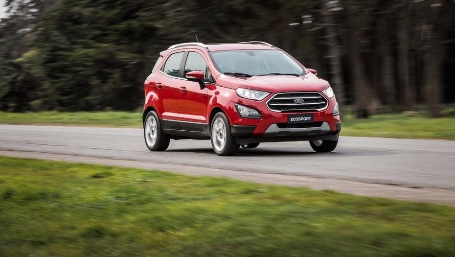 Ford Ecosport, el SUV más robado.