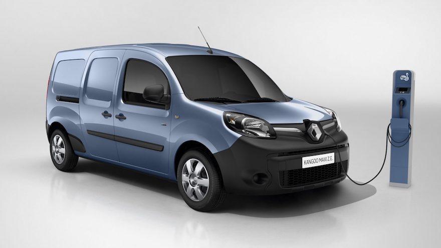 Renault Kangoo, el único utilitario eléctrico, es el más vendido en su versión tradicional.