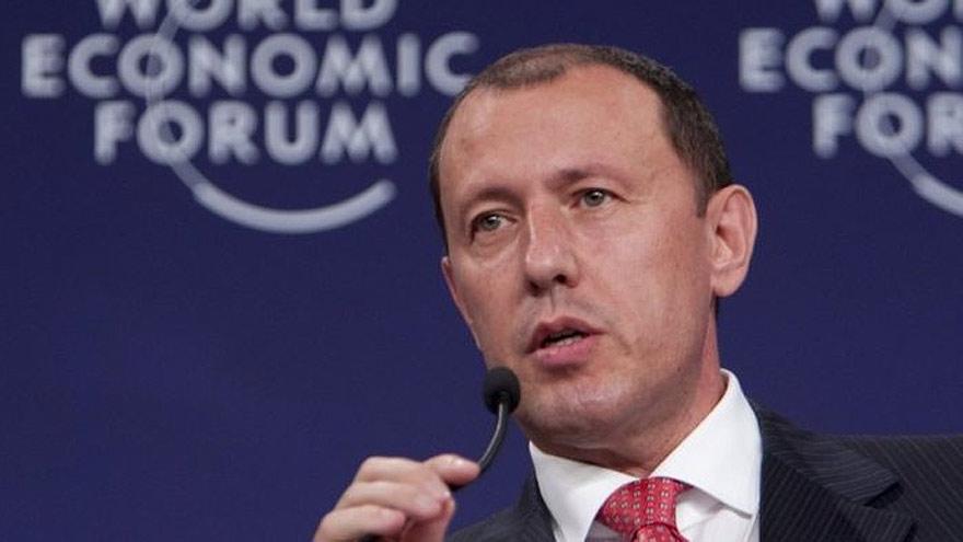 Jahangir Hajiyev fue gerente del Banco Internacional de Azerbaiyán.