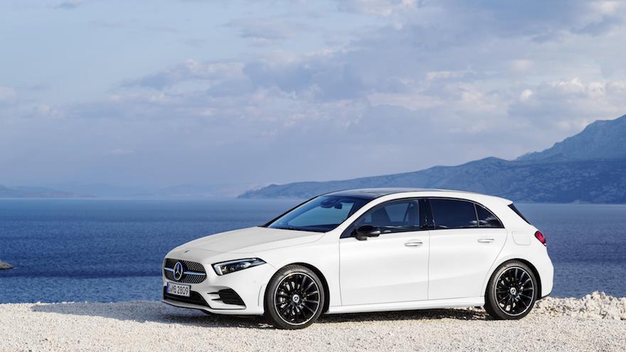 El premium más vendido, el Mercedes Benz Clase A hatchback.