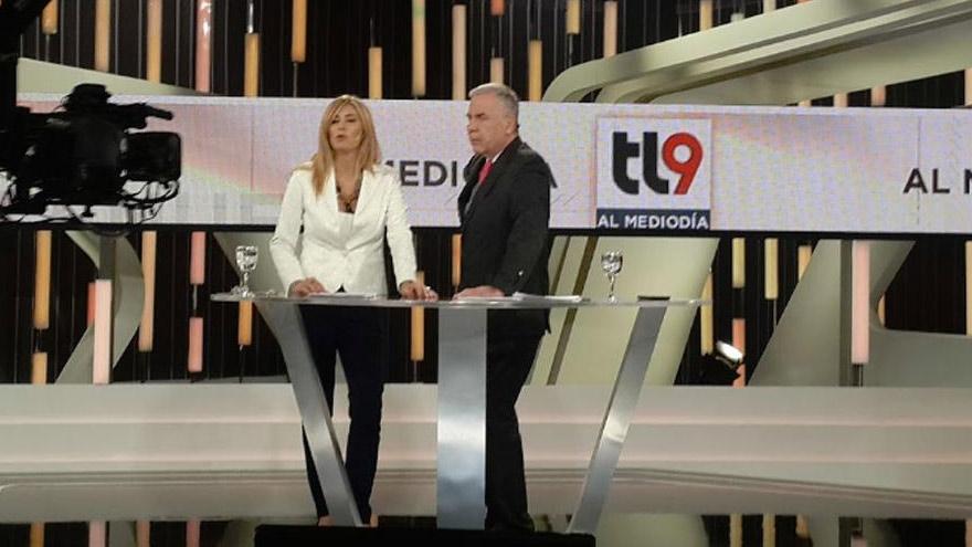 En los estudios de Canal 9, el Grupo Octubre montó la señal noticiosa cablera IP Noticias.