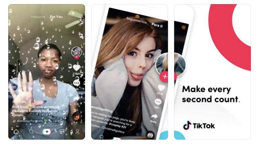 TikTok es muy popular entre las jóvenes.