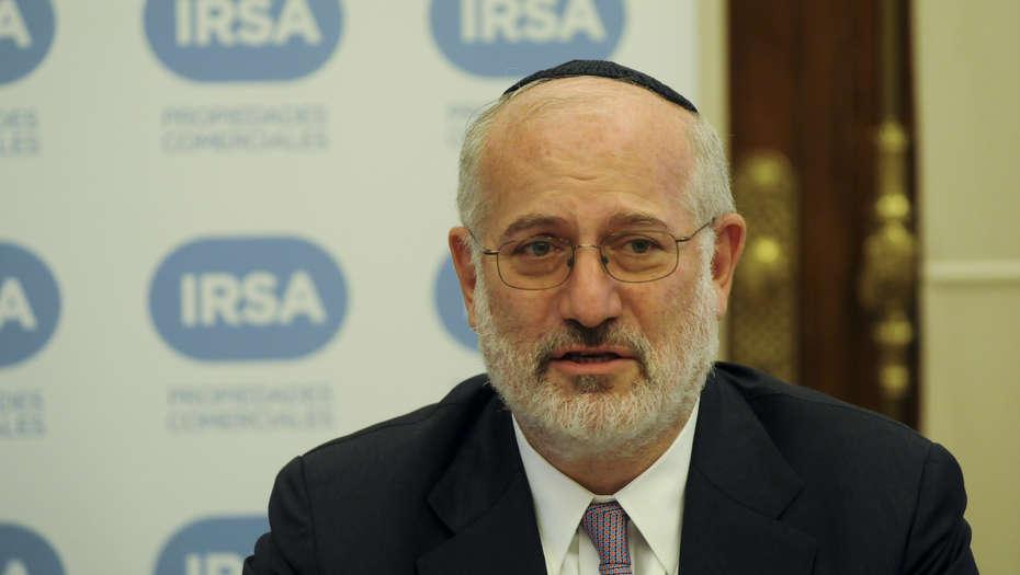 Eduardo Elsztain: IRSA es la sociedad controladora de Cresud.
