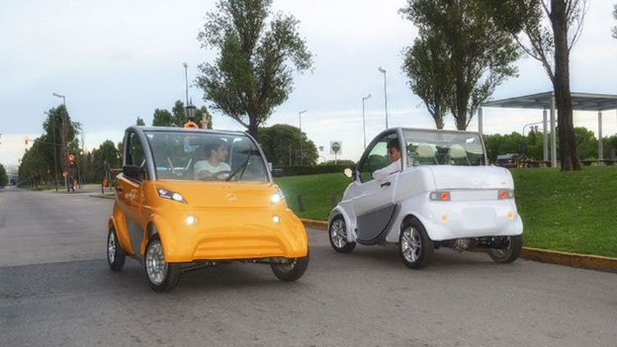 Sero Electric, another car of national production.