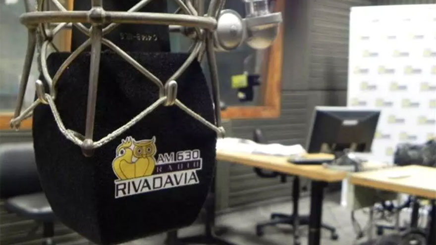Radio Rivadavia pertenece al mismo grupo empresario